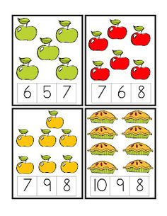 Good preschool link of letters and number Preschool Printables: Apple Preschool Apple Theme, Apple Activities, Numbers Preschool, Math Numbers, Preschool Printables, Preschool Learning, Kindergarten Math, Teaching Kids, Learning Activities