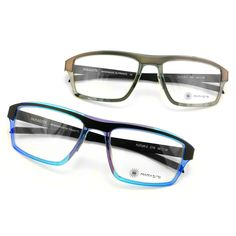 Parasite Eyewear Mens Eyeglasses. Featuring a rectangle shape and made out of polyamide and stainless steel.