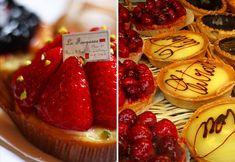 Stohrer bakery- yummy macarons too.  Marie Antoinette's personal baker