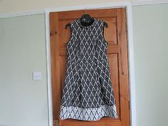 High neck 60s / mod dress size 14,  View more on the LINK: http://www.zeppy.io/product/gb/2/262269199444/