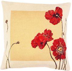 Poppy French Cushion