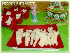 Biscotti a forma di attrezzi per la festa a tema Handy Manny!