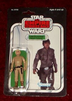 Kenner Empire Strikes Back Action Figure - Luke Skywalker Bespin Fatigues Retro Toys, Vintage Toys, Jouet Star Wars, Figuras Star Wars, Kenner Toys, Star Wars Merchandise, The Empire Strikes Back, Star Wars Action Figures, Star Wars Toys