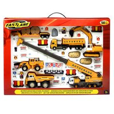 Fast Lane Super Construction Playset