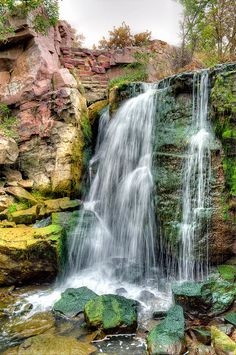 Winnewassa Falls,Pipestone National Monument,MN