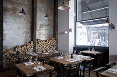 Goat - Chelsea - Italian Dining/Bar great idea for restaurant. New York