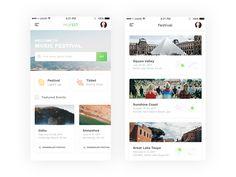 Mufest iOS App by Puji Ari Setiawan