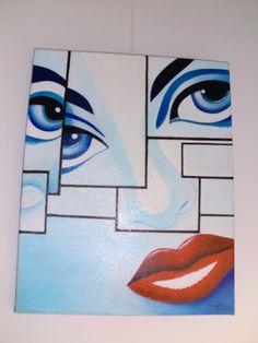 Pintura em tela,óleo. Learning, Things To Sell, Canvas Art, Fabrics, Art, Teaching, Studying