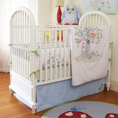 Crib Bedding, The Wishing Tree by The Little Acorn, Little Acorn, Bedding, Crib Bedding