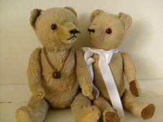 Steiff teddy bears.
