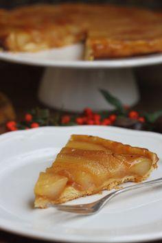 Smakowity Blog Kulinarny: Tarta Tatin z gruszkami