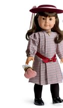 2004 SAMANTHA DOLL CUT~OUTS RETIRED AMERICAN GIRL INTRODUCING NELLIE BOOKMARK