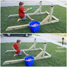 KIDS OUTDOOR PLAY IDEAS Summer is around the corner and outside is one of the best places for kids to grow, play, explore and learn. We just love outdoor play ideas so we have compiled some of the best ideas out there. Image source, and directions are listed below each image Kids Water Wall- from Tinkerlab Outdoor playhouse SOURCE HERE Gardening Sensory Bin SOURCE HERE Backyard Racetrack SOURCE HERE Dry Riverbed Play area - from Little Creatures Family Daycare Outdoor Music Wall…