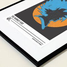 'The Monkey God' #Anime inspired #poster #print. Now available at www.madebyminney.com  #minimalist #minimalistposter #minimalposter #design #graphicdesign #art #artist #dragonball #goku #songoku #akiratoriyama #dragonballz #fanart #typography #digitalart #creative #geek #weeaboo #instadaily #photooftheday #Graphics #illustration #logo #stamped #cosplay #dragonballart #gokuart - Visit now for 3D Dragon Ball Z shirts now on sale!