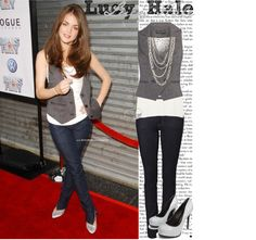 """""""lucy hale style..(:"""" by foreverfaithful on Polyvore"""