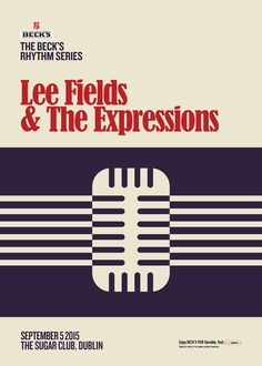 25 Sep - Lee Fields & The Expressions at Lee Fields, Sugar Club, Band, Poster, Sash, Bands, Billboard
