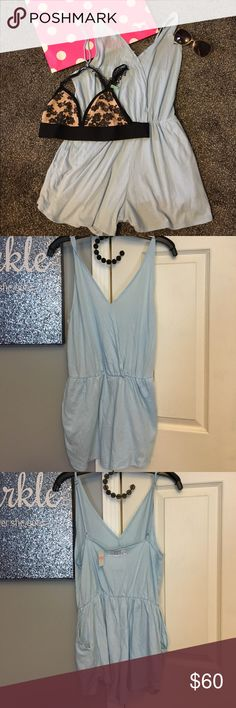 VS PINK romper and bralette bundle NWT medium romper large bralette, no padding, straps are adjustable on both, open to reasonable offers, no trades🎀 PINK Victoria's Secret Other