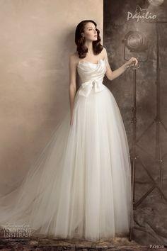 papilio wedding dresses 2013 scarlett strapless bridal gown