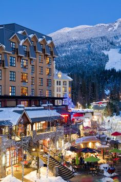 This 49-room boutique hotel is at the base of Whistler Mountain, not far from the gondolas. #Jetsetter Sundial Boutique Hotel (Whistler, Canada)