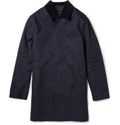 Mackintosh - Dunoon Handmade Bonded-Cotton Rain Coat | MR PORTER