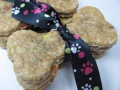 A delightful treat for your dog! Get more recipes from the Doggy Dessert Chef.com