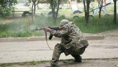 Lugansk'ta çatışma