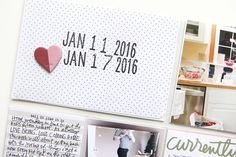 Ali Edwards   Blog: Project Life® 2016   Week Two