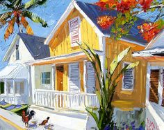 """Bahamian Summer"" ~ Peter Vey ~ Gallery On Greene"