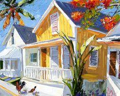 """Bahamian Summer"" ~ Peter Vey ~ Gallery On Greene"