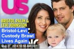 Latest News:  Bristol-Levi Custody Brawl Lives Again.  If you thought (hoped!) you'd heard the last from Bristol Palin and Levi Johnston, well, you thought wrong. The ex-lovers are back in court, fighting over custody of son Tripp, now five, Radar reports.  Get all the latest news on your favorite celebs at www.CelebrityDazzle.com!