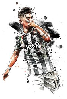 'paulo dybala' Poster by charlieyusup Soccer Art, Soccer Poster, Football Art, Football Memes, Juventus Soccer, Messi Soccer, Juventus Fc, Cr7 Wallpapers, Juventus Wallpapers