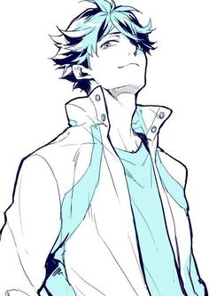 HAPPY BIRTHDAY TO OIKAWA TOORU!!!! Hehe woop woop 20-7-16 credit to the artist