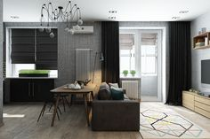 Home Design Ideas: Small Apartments Under 50 Square Meters
