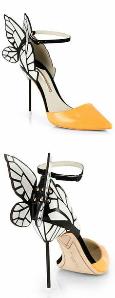 Butterfly d'Orsay Pumps ♡