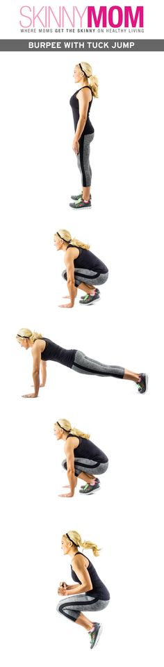 Try these Burpee's with a tuck jump. Can you do them?