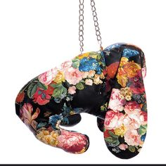 Introducing the Spring Awakening Vegan Bunny Bag, made of chic floral faux leather.   #comingsoon #mandycoon #bunnybag #ss16 Bunny Bags, Spring Awakening, Coin Purse, Floral Prints, Chic, Classic, Vegan, Fabric, Silver