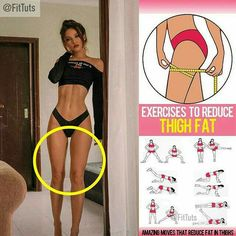 Womens Style Discover Exercises to reduce thigh fat! Will you try them Fitness Workouts Summer Body Workouts Fitness Workout For Women Gewichtsverlust Motivation Lower Ab Workouts Yoga Fitness Belly Fat Workout Butt Workout Bigger Bum Workout Fitness Workouts, Summer Body Workouts, Gym Workout Videos, Gym Workout For Beginners, Fitness Workout For Women, Fun Workouts, Fitness Motivation, Butt Workout, Toned Legs Workout