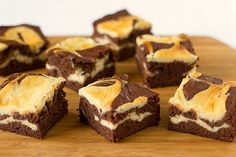 Cream Cheese Brownies--I have these in the oven right now!