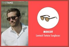 Moscot Lemtosh Tortoise Sunglasses as seen on Davis Mitchell in Demolition | TheTake
