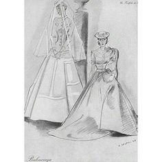 1939 - Balenciaga dresses in Vogue