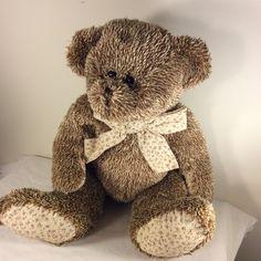 "2010 Circo Animal Adventure Floral Corduroy Plush TEDDY BEAR 17"" Stuffed Animal #CircoAnimalAdventure"