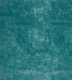 Papel pintado cachemir plateado moderno fondo verde azulado - 2011642
