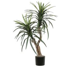 Vickerman Artificial Marginata Bush Tree, 4' * To view further for this item, visit the image link.