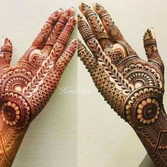 Henna 💕 💅🏻 shared by Naina on We Heart It