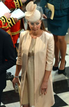 Kate Middleton - Queen Elizabeth II Attends Westminster Abbey Service To Mark 60th Anniversary Of Her Coronation
