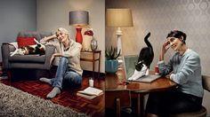 Joey C. | Soply  Cat Lady  #catlady #advertising #advertisingphotography