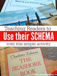 Teaching Readers How to Use Their Schema with this simple pre-reading activity {FREE pack included for fiction and nonfiction} | This Reading Mama