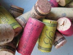 Crafts with Wine Corks ... Something I have plenty of ;)