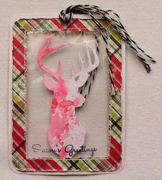 Grani di pepe: Xmas series 2015 - Deer tag