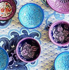 Средиземноморский интерьер: посуда
